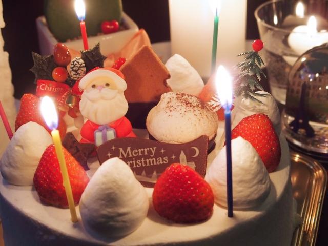クリスマスケーキ アメリカ 日本