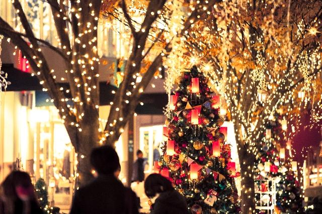 クリスマス アメリカ 日本
