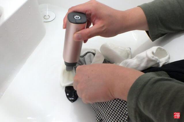 ハンディ洗濯機 洗濯ツール