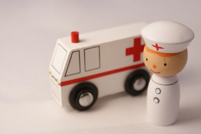救急診療科で働く看護師
